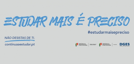 Logotipo do Estudar (mais) é preciso