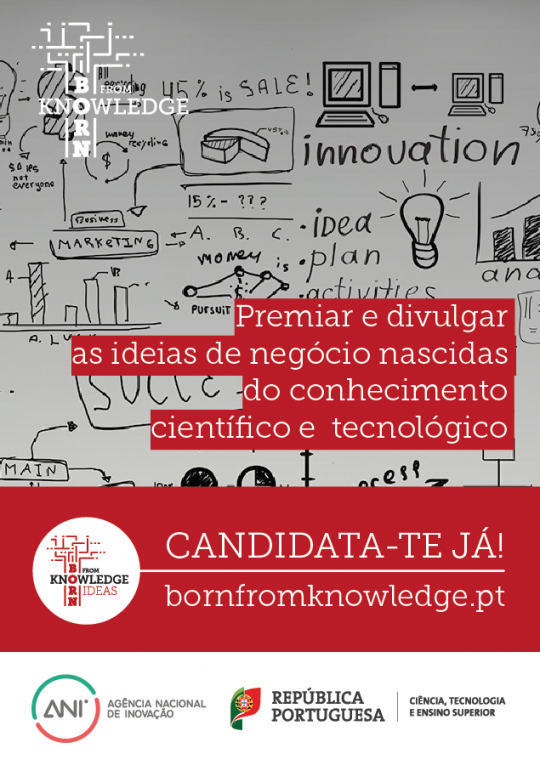 Cartaz A3 - Born from Knowledge